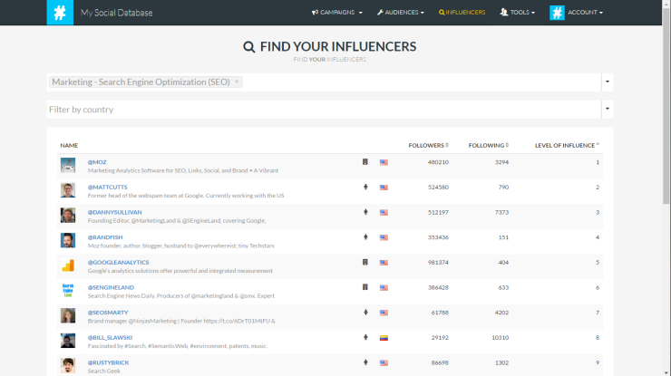 seo-search-engine-optimization-influencers-screenshot